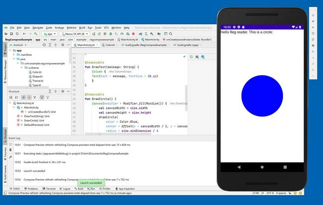 Jetpack Compose for Android has just reached version 1.0