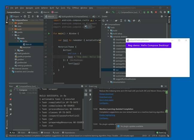 Compose for Desktop: a start