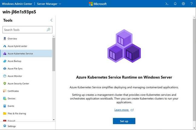 El centro de administración basado en navegador es excelente, pero a veces parece una serie de anuncios para los servicios de Azure