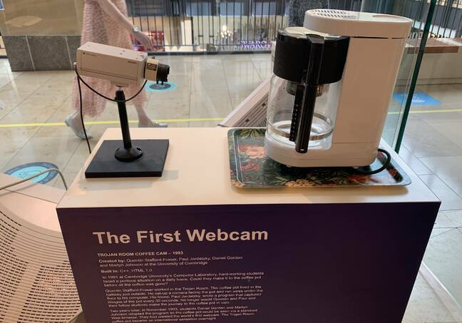 Recreation of the first webcam