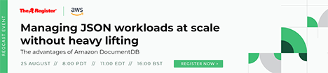 Managing JSON workloads at scale without heavy lifting