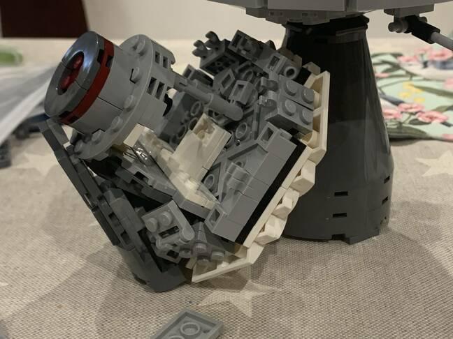 Lego CM interior