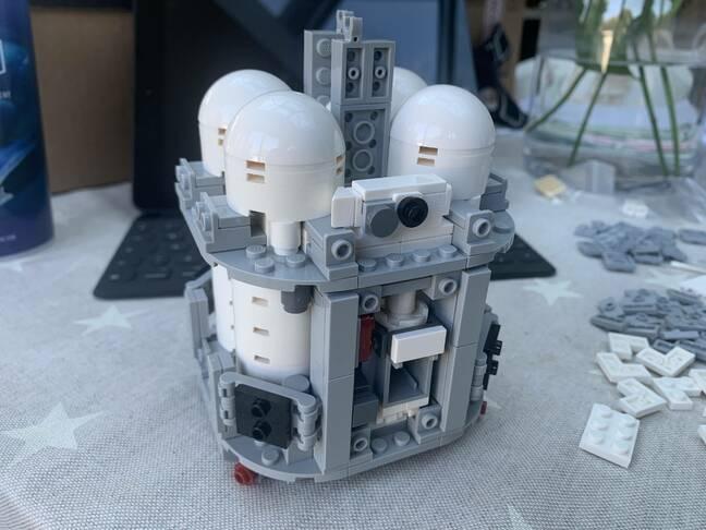Lego Service Module interior