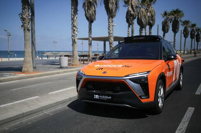 Mobileye autonomous vehicle