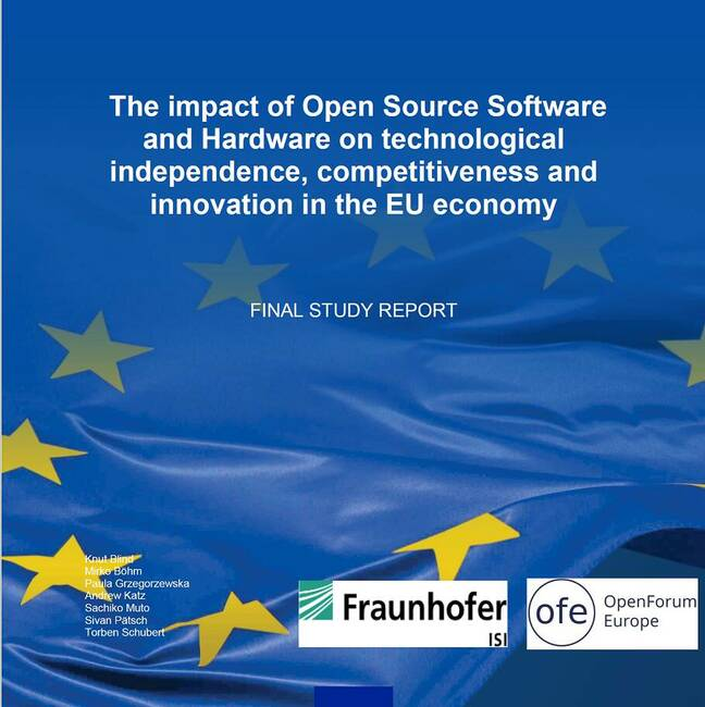 Nearly 400 pages long, the EU study on open source says it has strong economic benefits