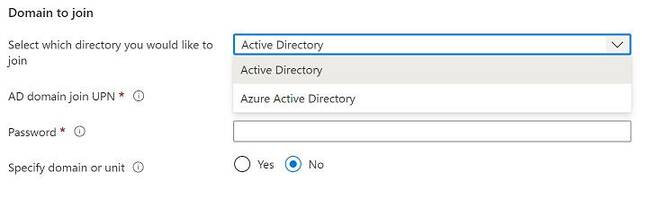 Joining an AVD host pool (collection of VMs) to Azure AD