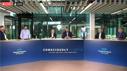 HPE takes (selected) questions regarding its Consciously Hybrid campaign