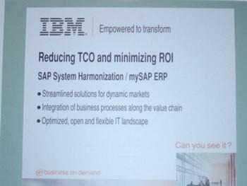 Reducing TCO and minimizing ROI