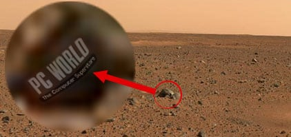 Our shocking discovery on the Martian surface