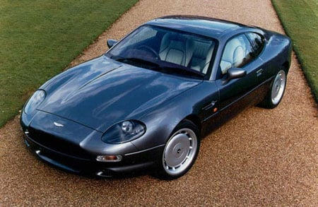 The Aston Martin DB7 what Pierce Brosnan will be driving in the new Bond movie