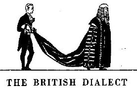 The British: dressing for dinner