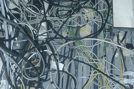 Network cabling FULL